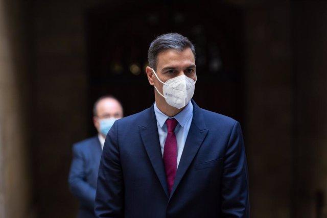 Arxiu - El president del Govern d'Espanya, Pedro Sánchez