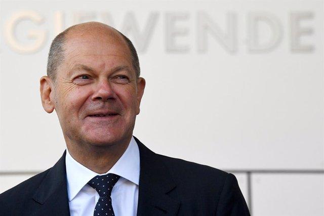 Olaf Scholz, ministro de Finanzas de Alemania y candidato del SPD al cargo de canciller