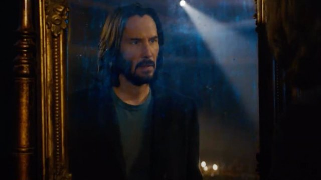 Reveladora reflexión de Keanu Reeves al ver Matrix 4 Resurrections