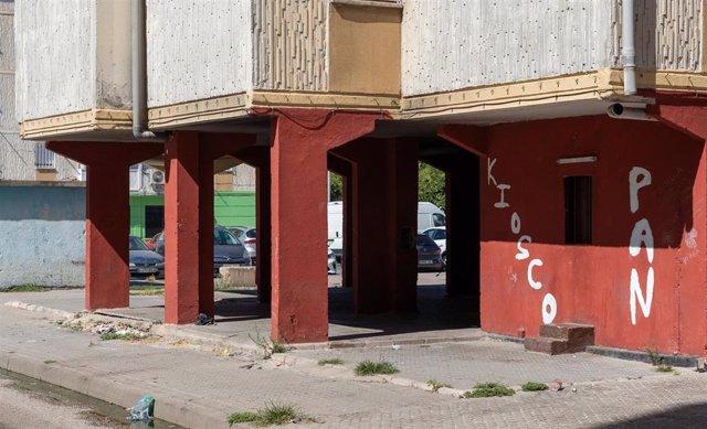 Imágenes del Polígono Sur de Sevilla, conocido popularmente como 'las tres mil vivienda'. Uno  de los barrios más pobre de España a 02 de septiembre del 2021 en Sevilla, (Andalucía)
