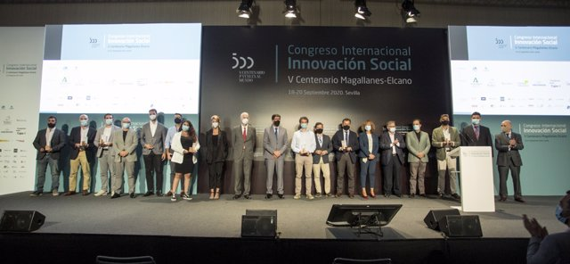 Archivo - Imagen de archivo del I Congreso Internacional Innovación Social Magallanes-Elcano, celebrado en 2020 en Sevilla.