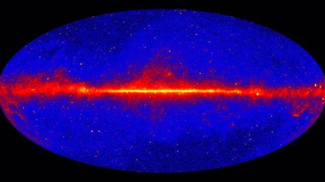 Una vista detallada del cielo de rayos gamma