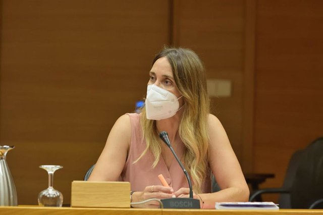 La diputada y portavoz de Compromís en la Comisión de Derechos Humanos en las Corts Valencianes, Cristina Rodríguez