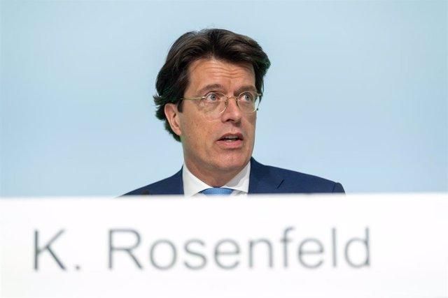 Archivo -  El consejero delegado de Schaeffler AG, Klaus Rosenfeld, en una imagen de archivo.