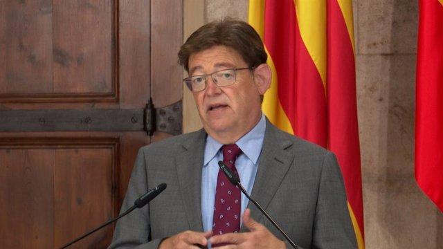 El president de la Generalitat, Ximo Puig, en imatge d'arxiu