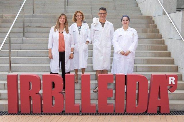 Grupo Neurobiología molecular y del desarrollo de la Universitat de Lleida y el IRBLleida.