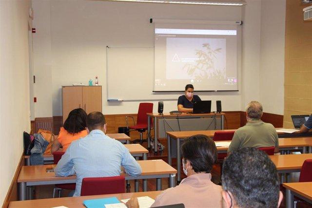 Participantes en el curso sobre innovación en la olivicultura como estrategia competitiva.