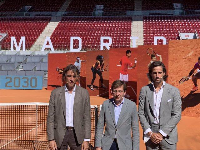Gerard Tsobanian, Martínez-Almeida y Feliciano López