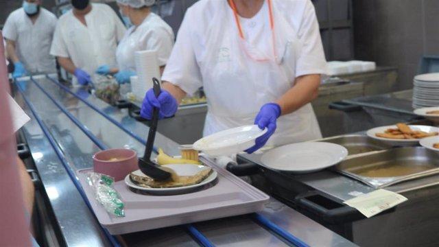 Recurso de la cocina del Hospital Virgen del Rocío.