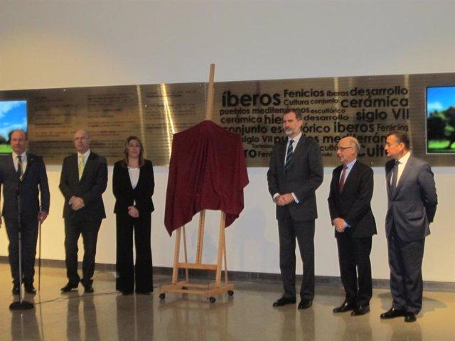 Archivo - Felipe VI en la inauguración del Museo Íbero