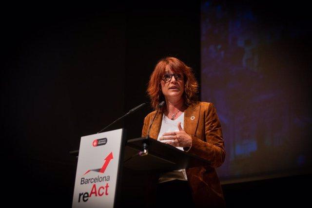 Archivo - Arxiu - La tinent d'alcalde d'Agenda 2030, Transició Digital, Esports i Coordinació Territorial i Metropolitana de l'Ajuntament de Barcelona, Laia Bonet