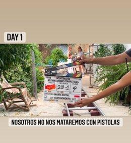 María Ripoll arranca el rodatge de 'Nosotros no nos mataremos con pistolas'
