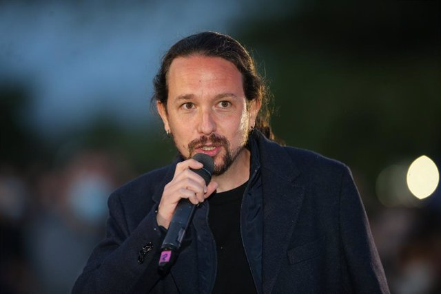 Archivo - Imagen de recurso del exsecretario general de Podemos y vicepresidente segundo Pablo Iglesias