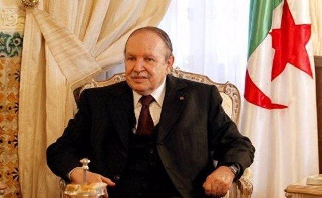 Archivo - El presidente de Argelia, Abdelaziz Buteflika