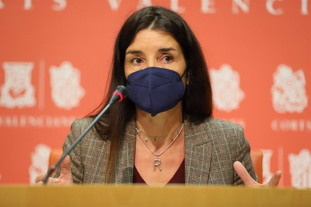 Archivo - La síndica de Ciudadanos (Cs) en Les Corts valencianas, Ruth Merino,