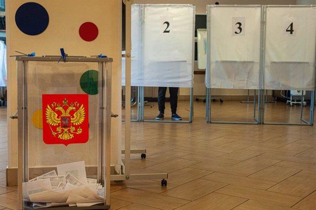 Archivo - Elecciones en Rusia