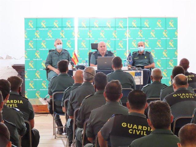 La Guàrdia Civil clausura el seminari fronteres i control d'immigració irregular a Girona