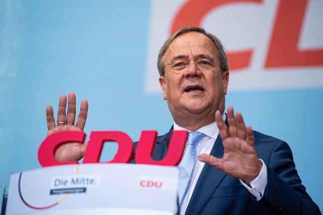 El líder conservador alemán, Armin Laschet