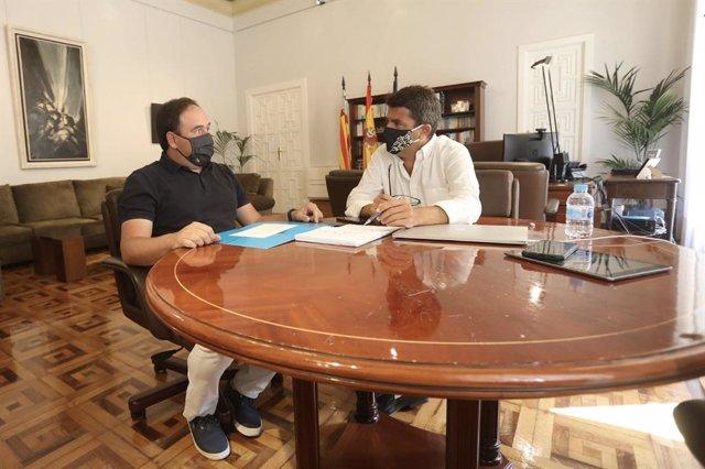 Pérez Llorca y Carlos Mazón