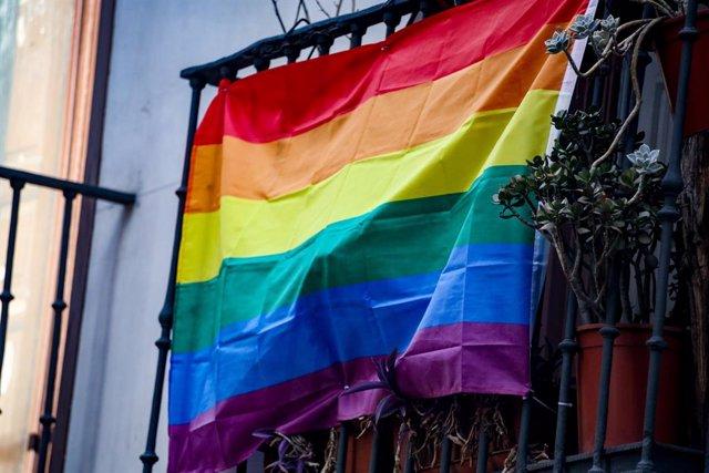 Archivo - Arxivo - Bandera LGTBI