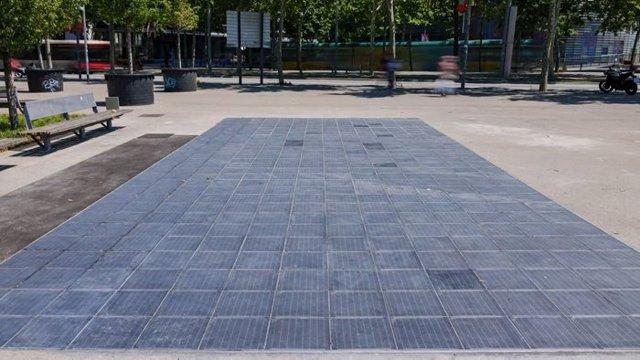 Paviment fotovoltaic sostenible de Sorigué
