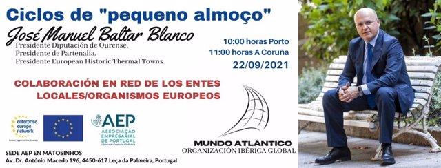Ciclos de desayunos con D. José Manuel Baltar