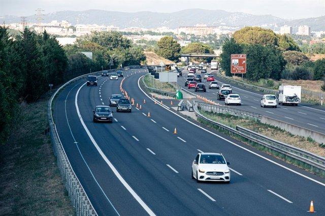 Arxiu - Imatge de recurs d'una autopista