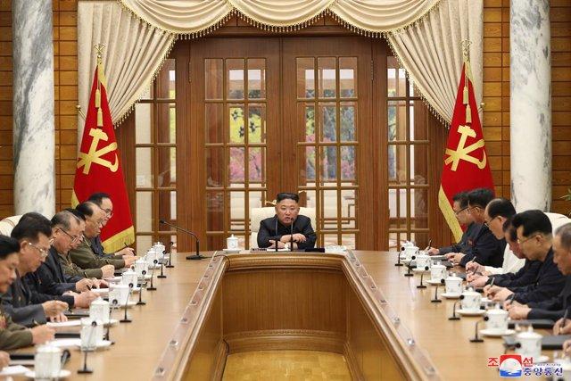 Archivo - Arxiu - El líder de Corea del Nord, Kim Jong-un