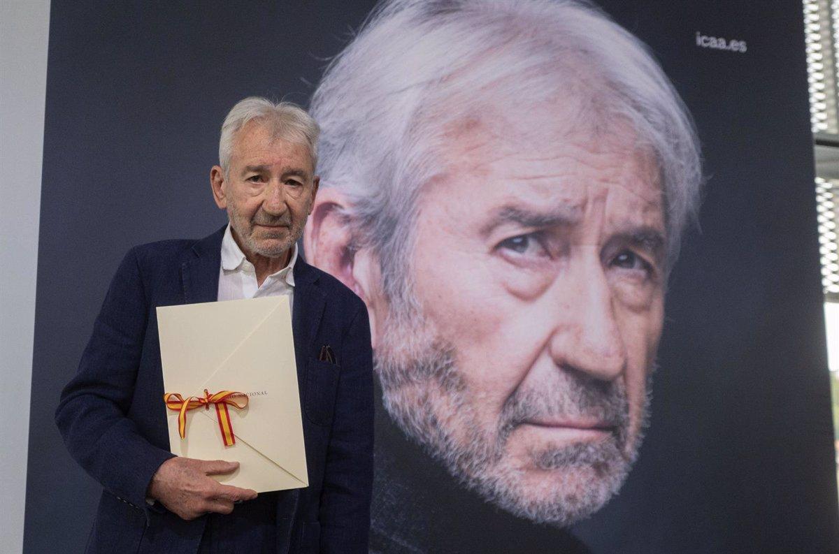 Actor José Sacristán receives the 2021 National Film Award in San Sebastián