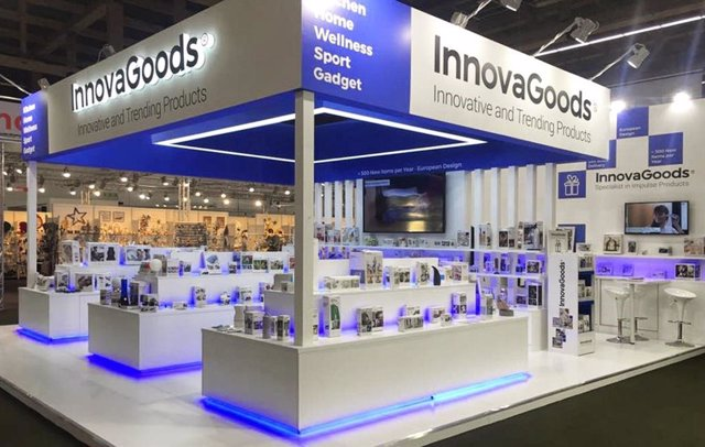 Stand de InnovaGoods en la Feria de Frankfurt 2020