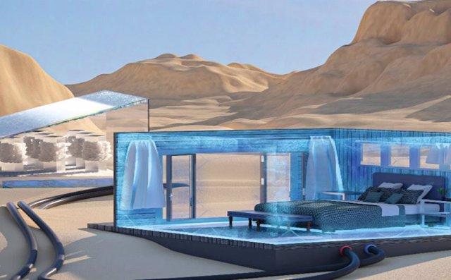 El sistema de refrigeración diseñado por los ingenieros de KAUST podría utilizarse para refrigerar habitaciones en hogares.