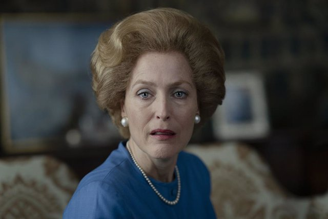 Archivo - Gillian Anderson vive el momento más surrealista cuando le preguntan si habló con Margaret Thatcher por The Crown