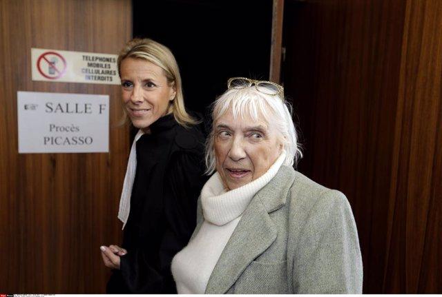 Archivo - France Picasso vs Le Guennec trial