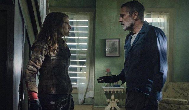 """Sorpresa mayúscula en The Walking Dead: """"¿Podemos hablar de ese momento de tensión sexual entre Negan y Maggie?"""""""