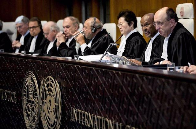 Archivo - Imagen de archivo de la Corte Internacional de Justicia de las Naciones Unidas