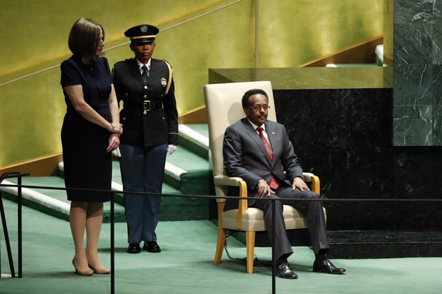 Archivo - El presidente de Somlaia, Mohamed Abdullahi, 'Farmajo'