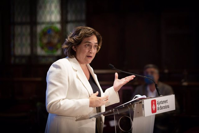 Arxiu - L'alcaldessa de Barcelona, Ada Colau