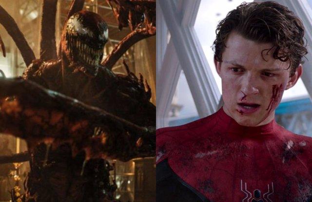 Carnage y el Spider-Man de Tom Holland