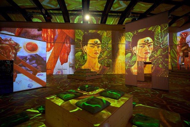 Primicia mundial: Viva Frida Kahlo – Immersive Experience