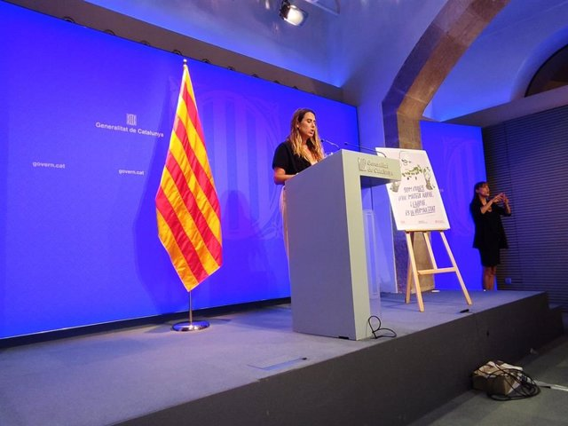 Arxiu - La portaveu del Govern, Patrícia Plaja