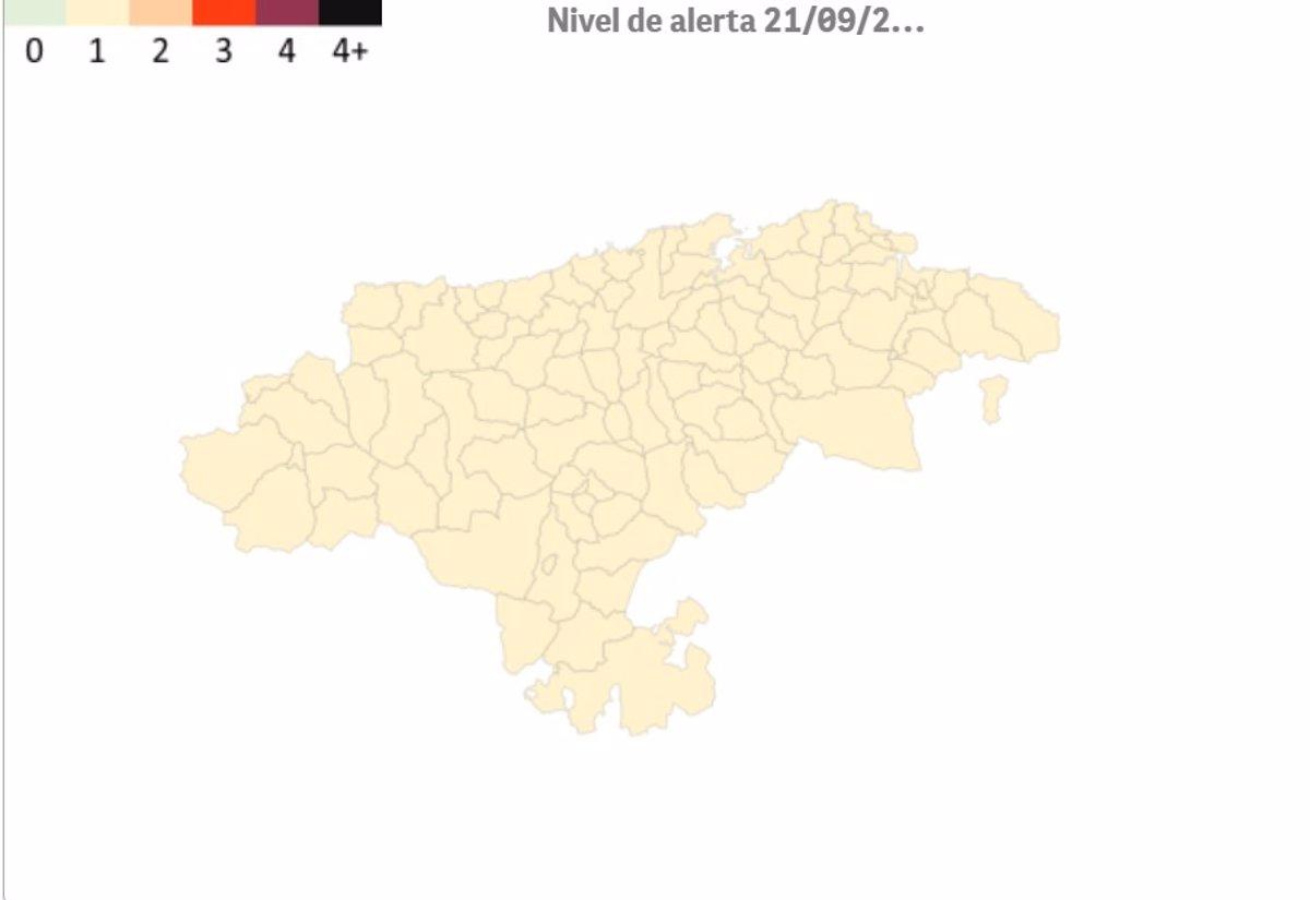Todos los municipios de Cantabria continúan esta semana en riesgo bajo por Covid
