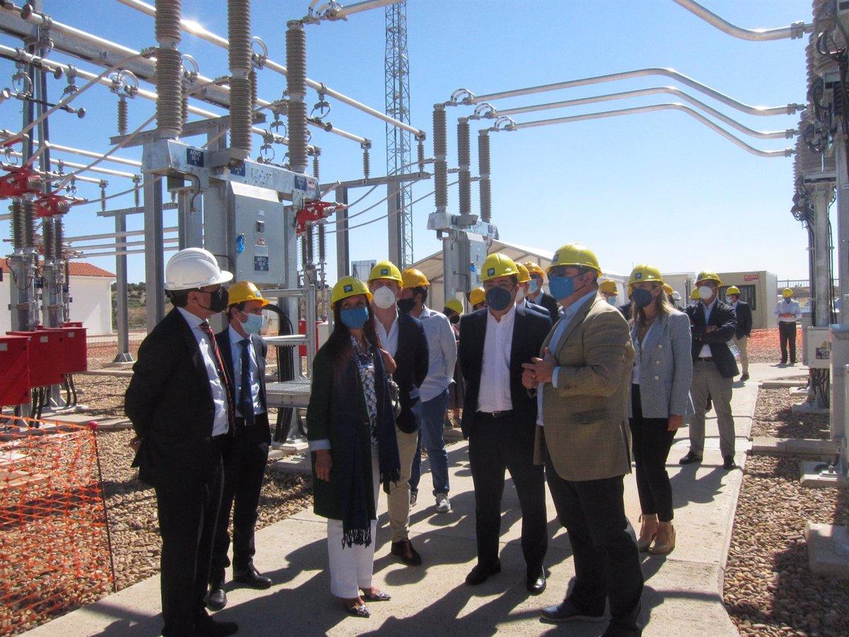 Red Eléctrica impulsará inversiones en infraestructuras eléctricas en Extremadura por 136 millones durante tres años