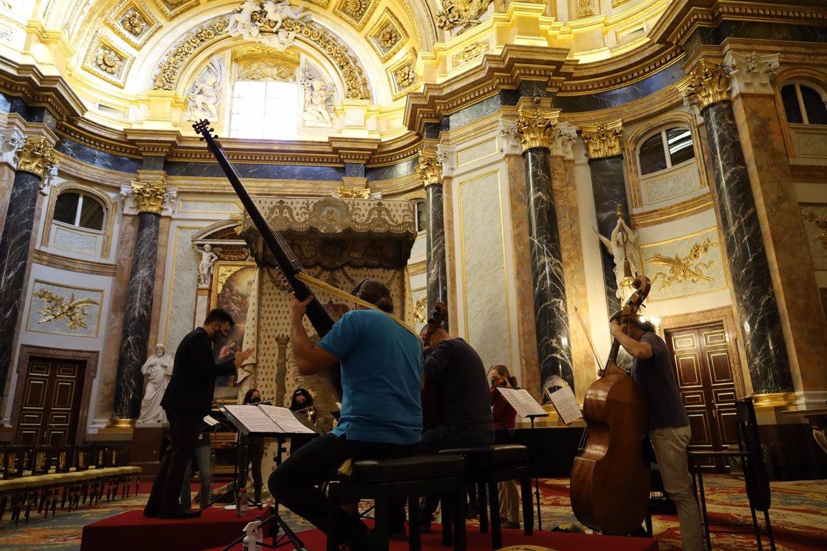 The Royal Palace hosts a concert that recovers the arias sung by Queen María Bárbara de Braganza