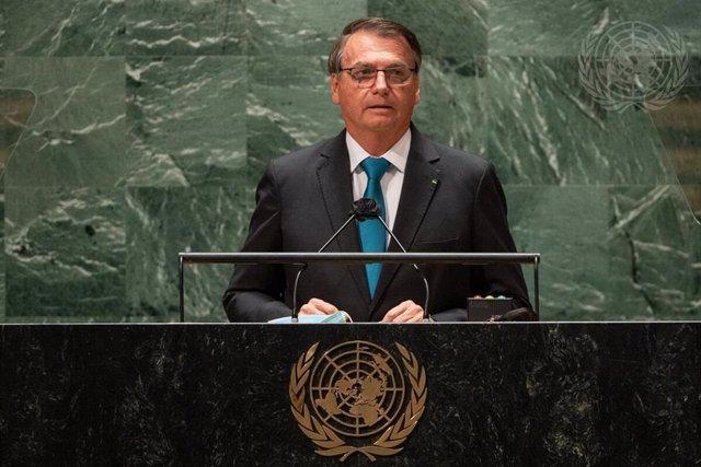Jair Bolsonaro habla ante la Asamblea General de la ONU