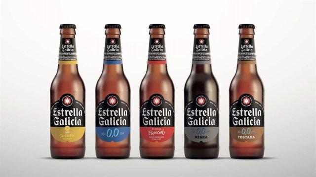 Archivo - Estrella Galicia estrena nueva imagen y packaging más sostenible
