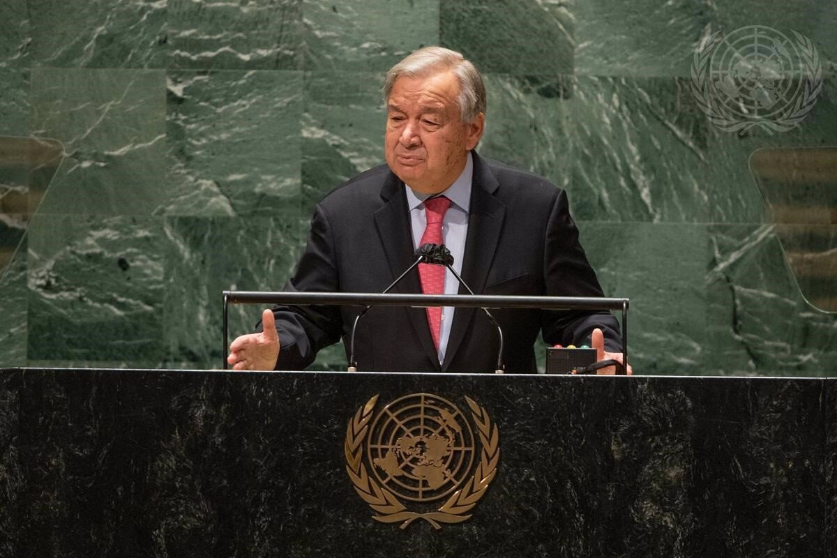 """Guterres warns that the world is facing a """"dead end"""" motivated by COVID.19 and the climate crisis"""