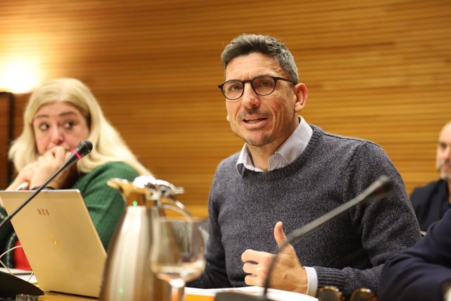 Archivo - Arxiu - El diputat de Ciutadans (Cs) a Les Corts valencianes Carlos Gracia
