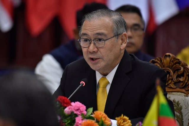 Archivo - El ministro de Exteriores filipino, Teodoro Locsin.