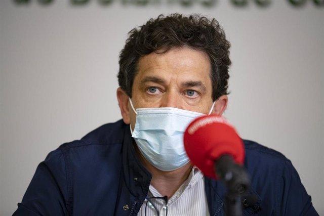 El presidente del PP de Ciudad Real, Miguel Ángel Valverde, en una entrevista con Europa Press