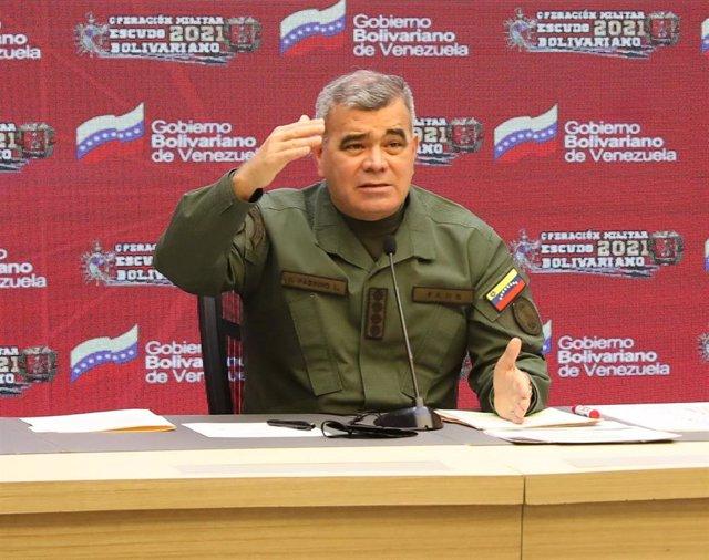 Archivo - El ministro de Defensa de Venezuela, Vladimir Padrino López